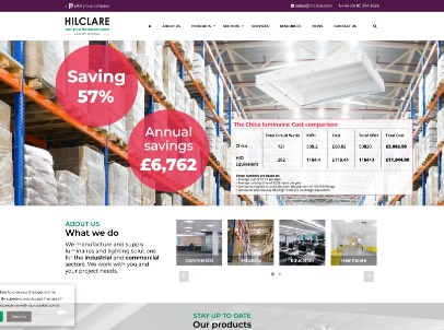Hilclare Website