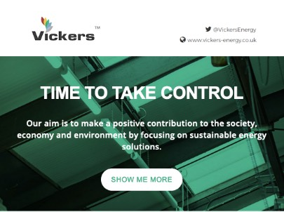 Vickers electronics email marketing
